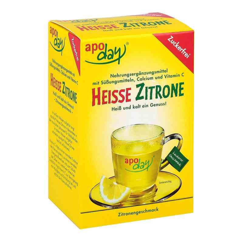 Apoday Heisse Zitrone Vitamine c und Calcium ohne Zucker  Plv (10X10g)