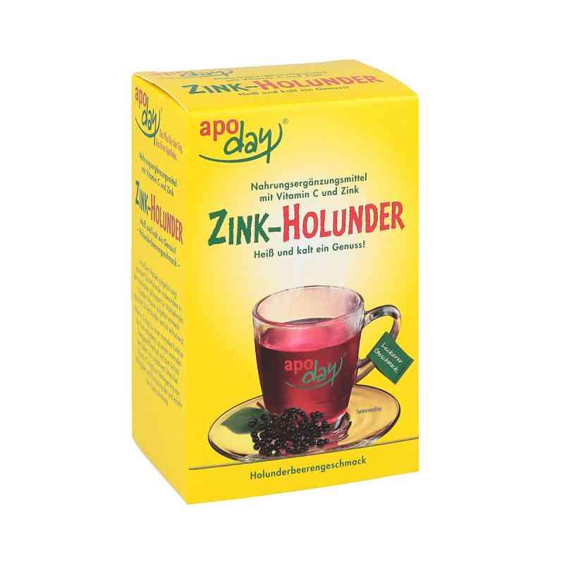 Apoday Holunder Vitamin C+zink ohne Zucker  Pulver (10X10g)