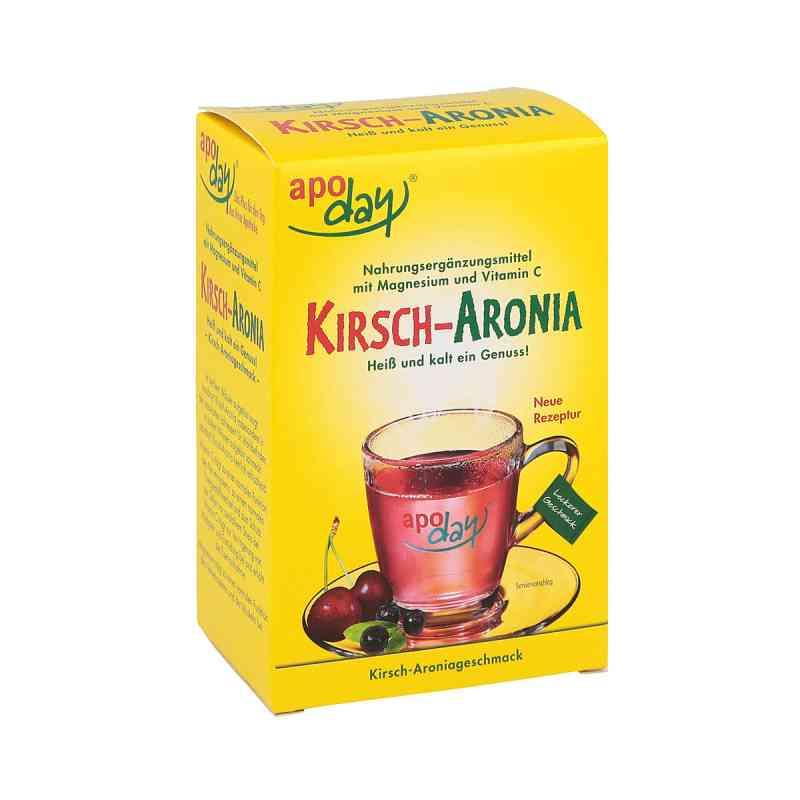 Apoday Kirsch Magnesium+vitamin C Pulver (10X10g)