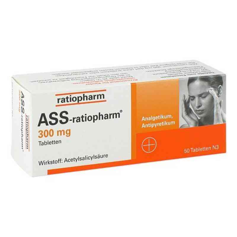 ASS-ratiopharm 300mg (50 stk)