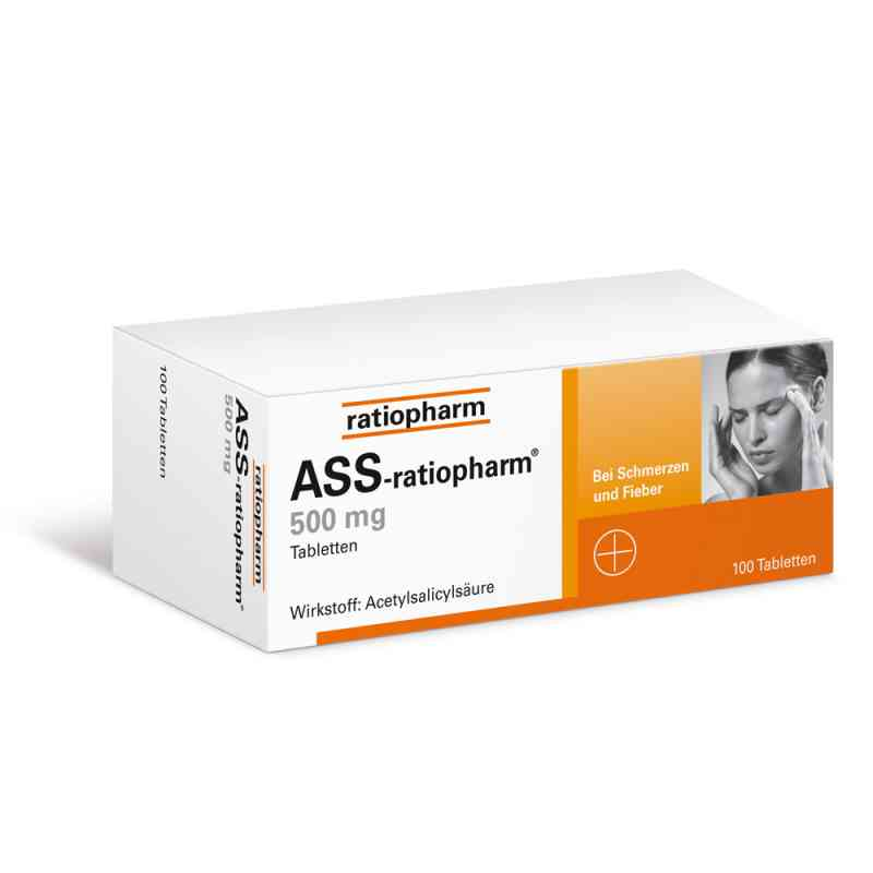 ASS-ratiopharm 500mg (100 stk)