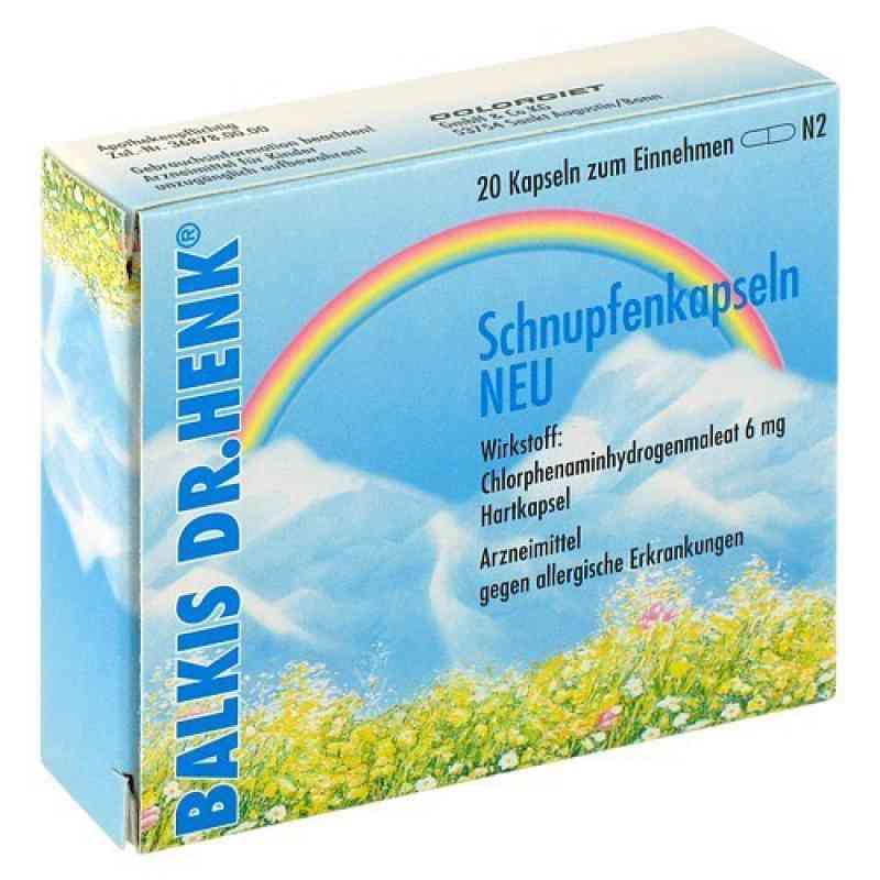 Balkis Dr. Henk Schnupfenkapseln Neu (20stk)