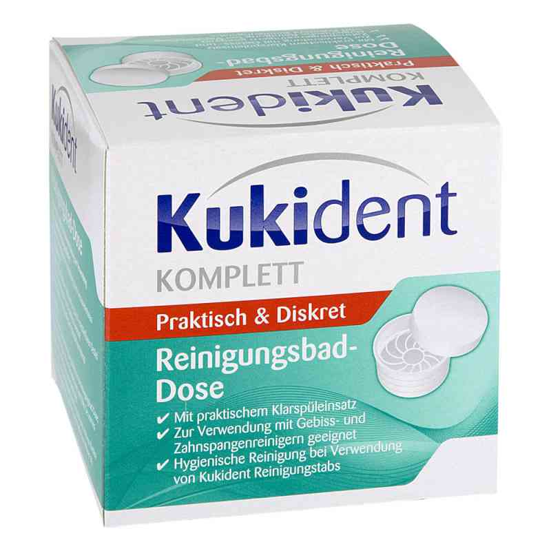 Kukident Bad-dose weiss (1 stk)