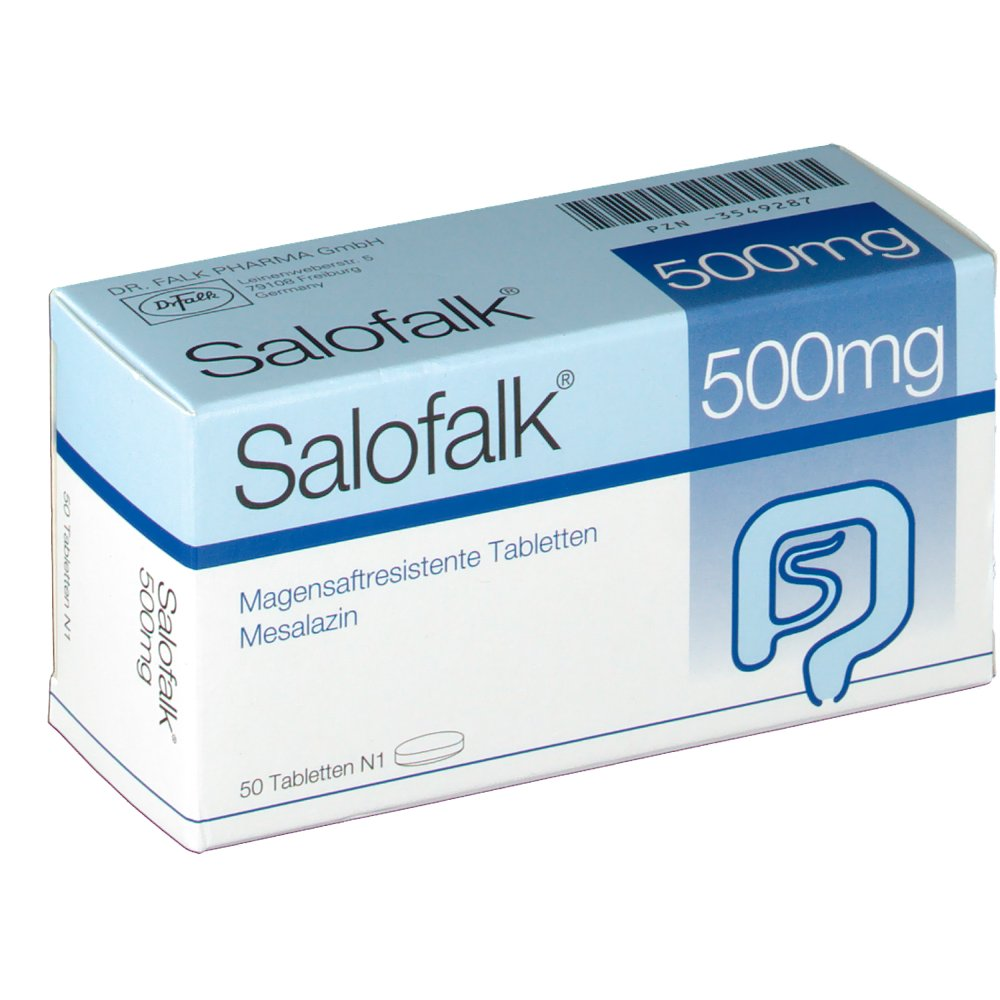 Salofalk 500mg 50 ST
