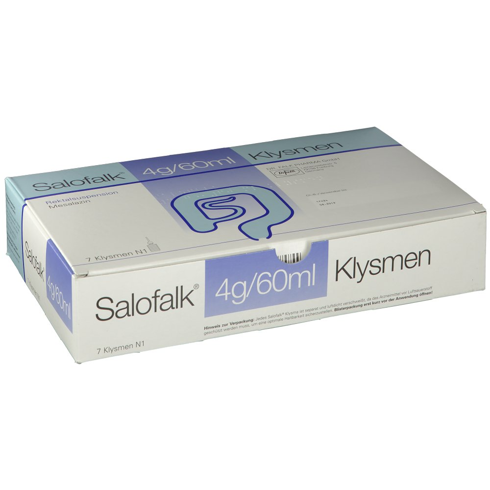 Salofalk 2g/30ml Klysmen 21 ST